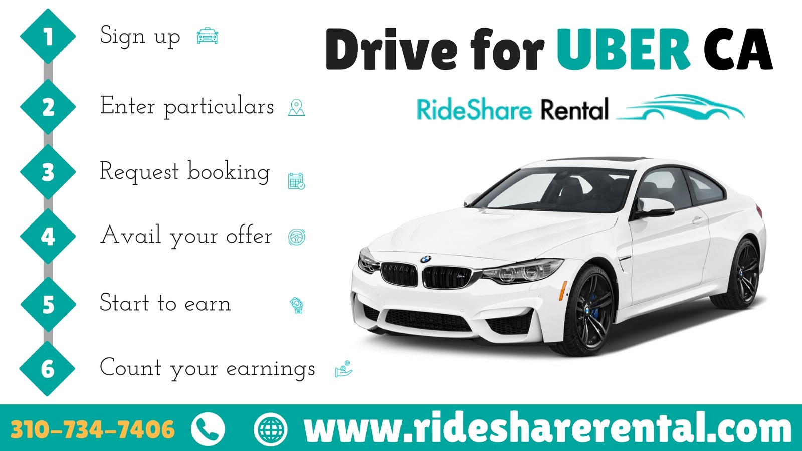Rent a Car to Drive for Uber and Lyft – RideShare Rental – Medium