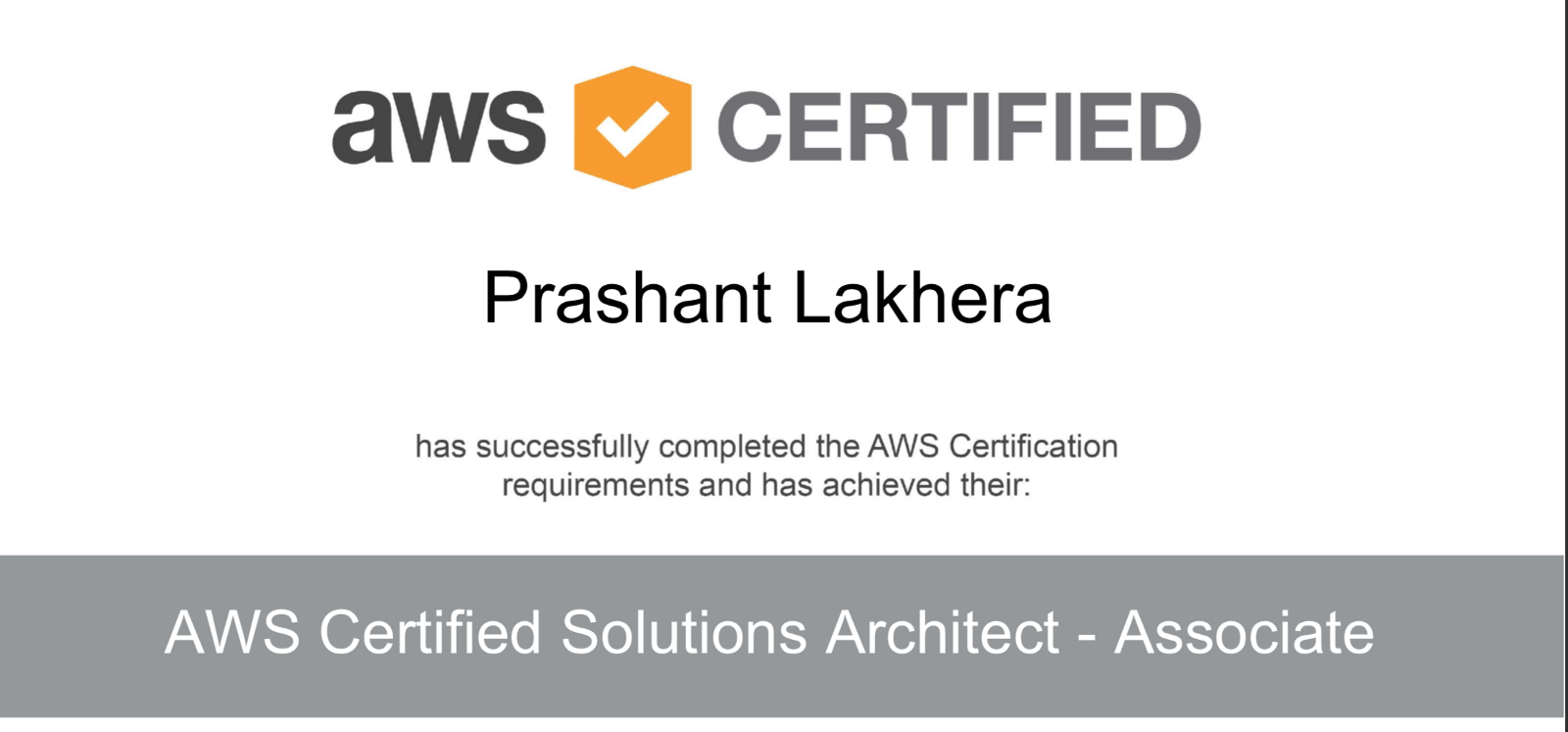 My Road To Aws Certified Solution Architect Prashant Lakhera Medium