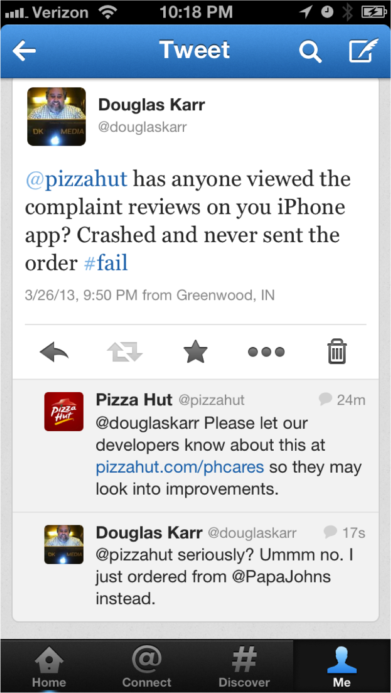 Pizza Hut #fail : 5 Easy Steps to Social Community Management