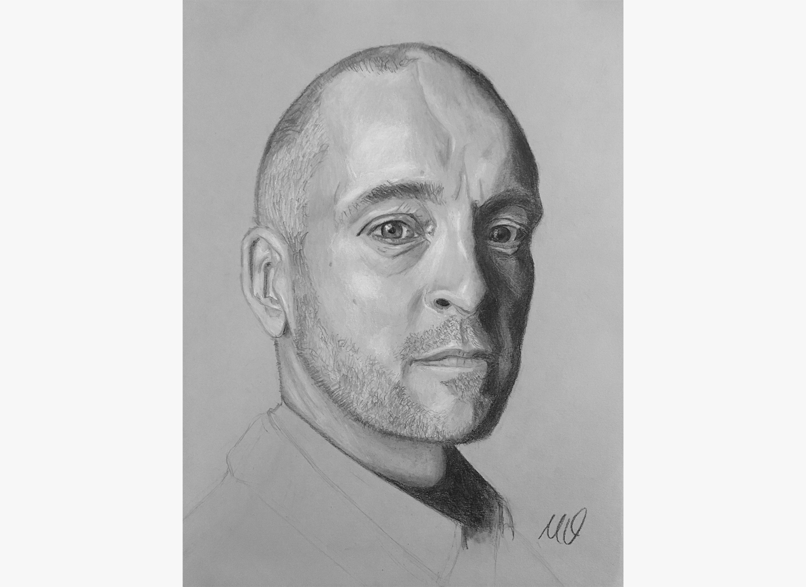 As i mentioned at the beginning of this month british illusionist derren brown originally inspired me to start drawing portraits