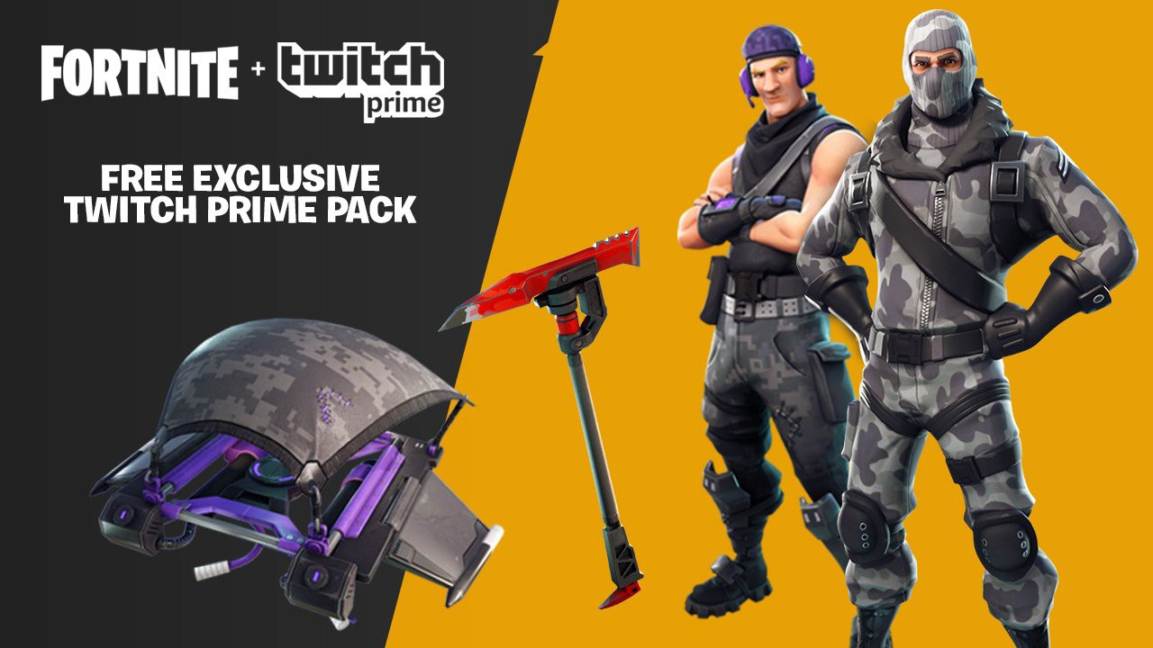even more twitch prime loot in fortnite - fortnite twitch prime pack 3 leak