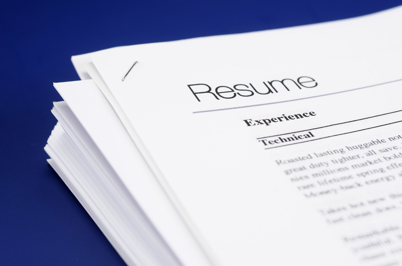 improving your resumes