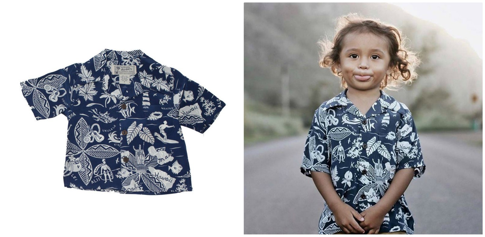 1d46ff806 Like its name, wearing the same would give your kid that sophisticated  kingly feel. Not so bold and bright, the beauty of this Aloha shirt lies in  its ...