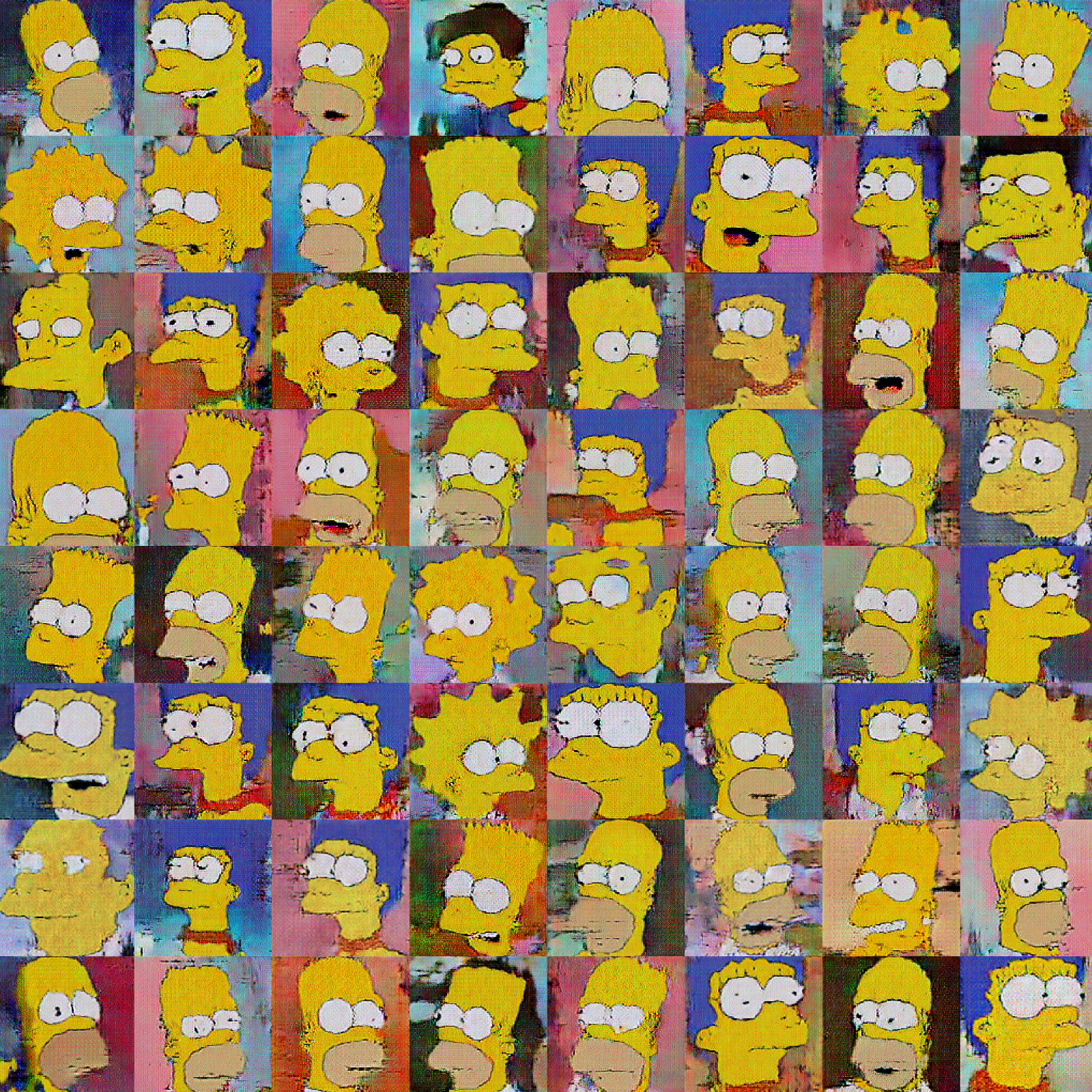 Image Generator - Drawing Cartoons with Generative Adversarial Networks