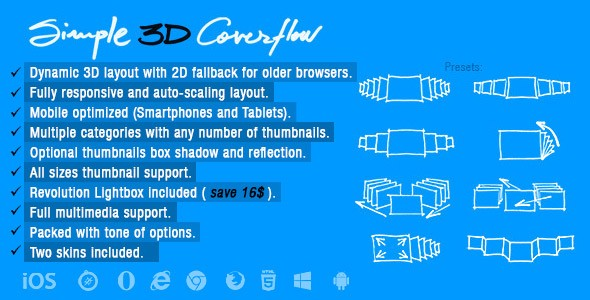 30 best jquery 3d slider plugins 2017 update september simple 3d coverflow with javascript css malvernweather Images
