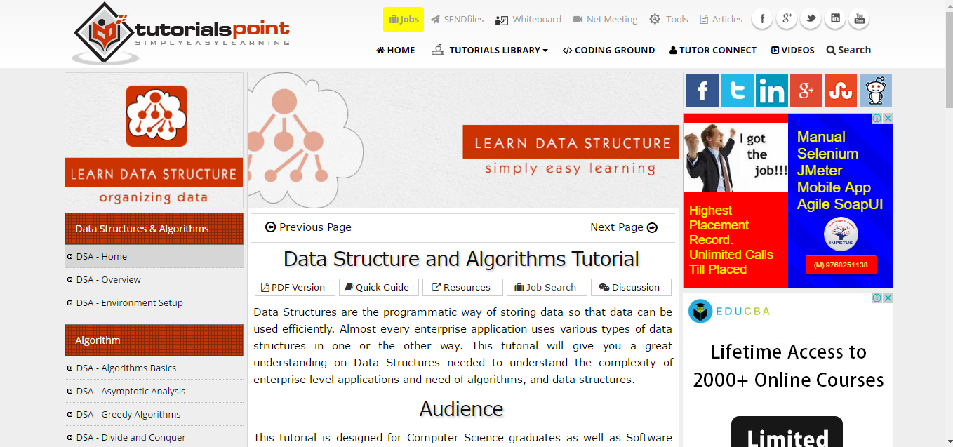 6 resources to learn algorithms and data structures this data structure tutorial takes the do it yourself approach for people who like a little more challenge it provides you with a menu of topics on the baditri Image collections