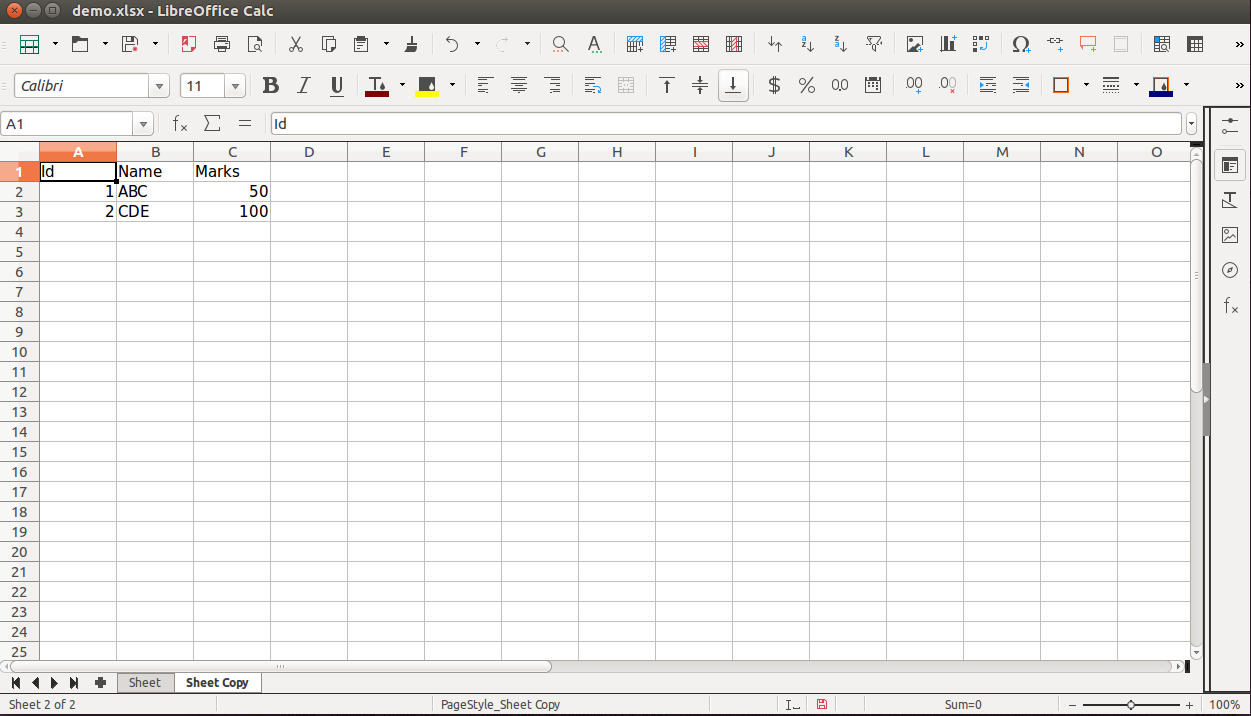 Working with Excel sheets in Python using openpyxl – Aubergine ...