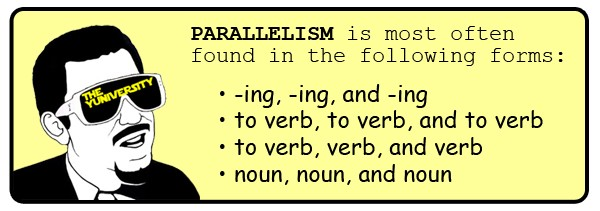 parallelism examples - photo #41