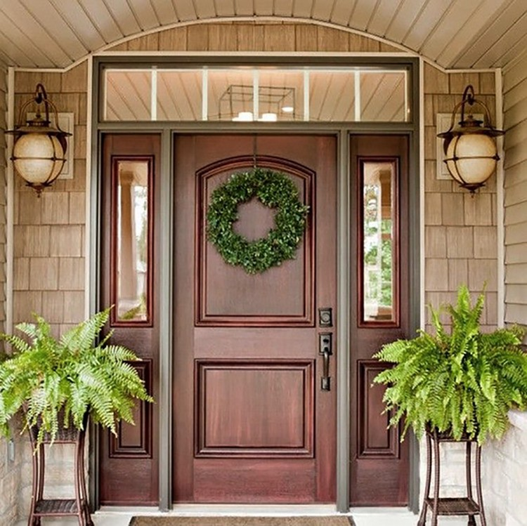 Wood Doors Also Have Their Advantages. Natural Wood Is A Strong And  Environmentally Friendly Material. Due To Its Properties, It Provides The  Doors With ...