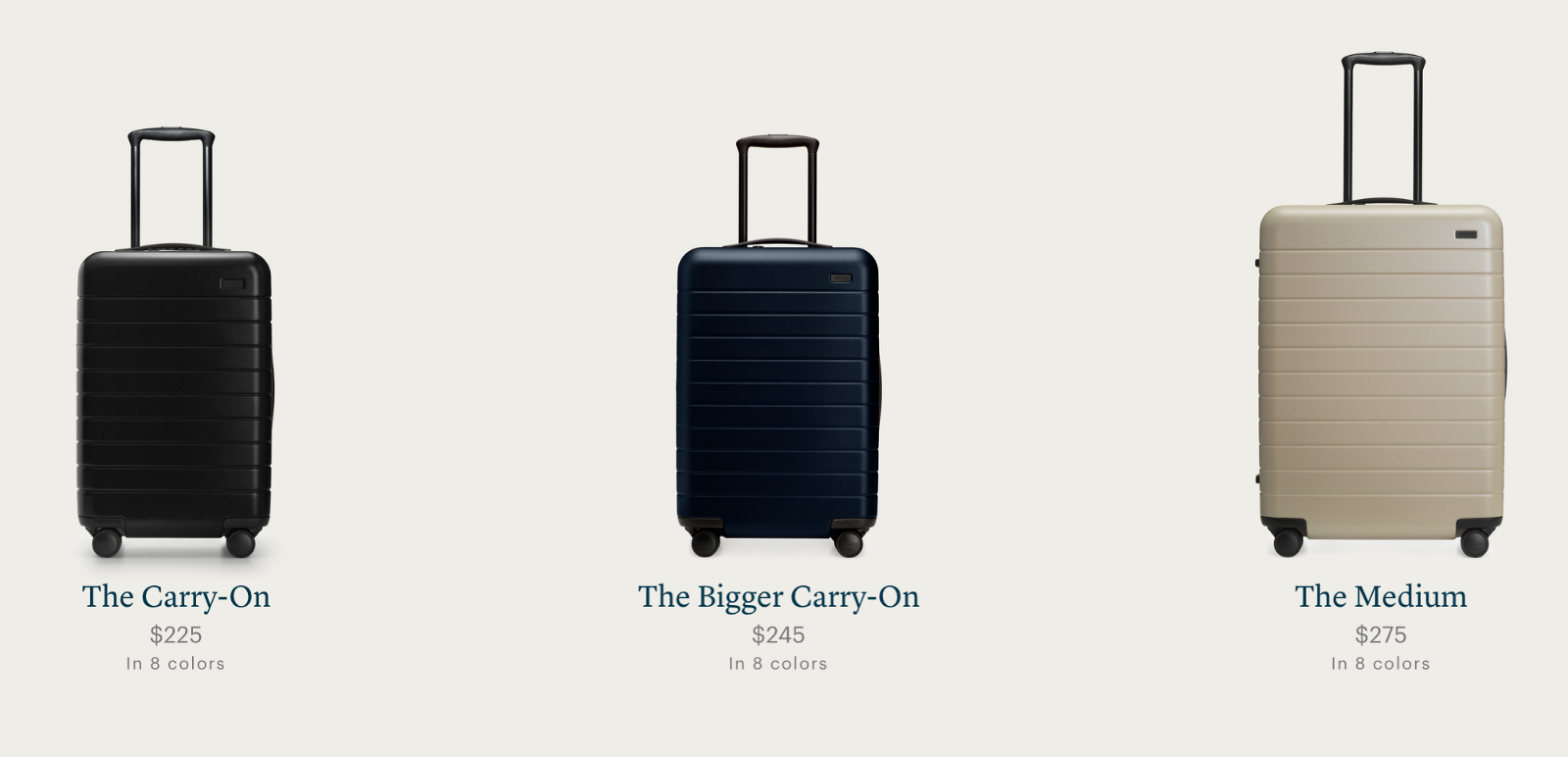 away luggage review  the bigger carry