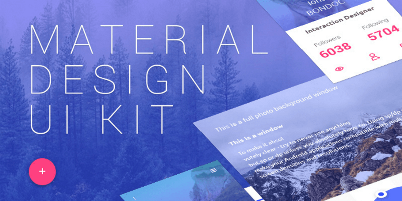 11 best free material design ui kits for sketch psd in 2018 fandeluxe Image collections