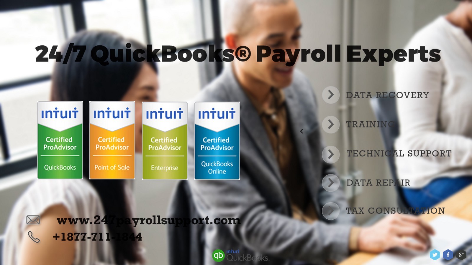 QuickBooks Payroll Support +1877–711–1844 Phone Number