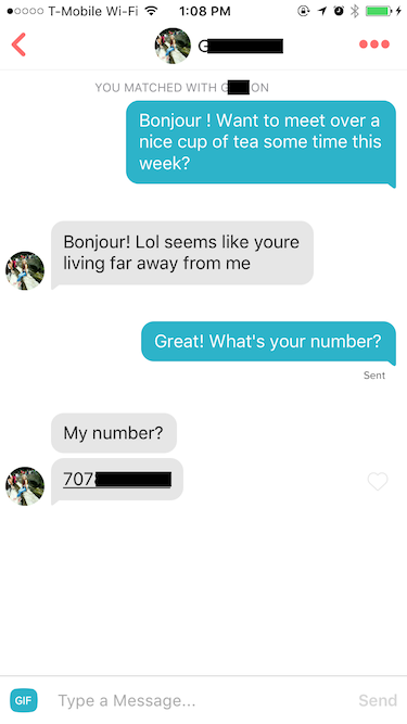 online dating no response follow up