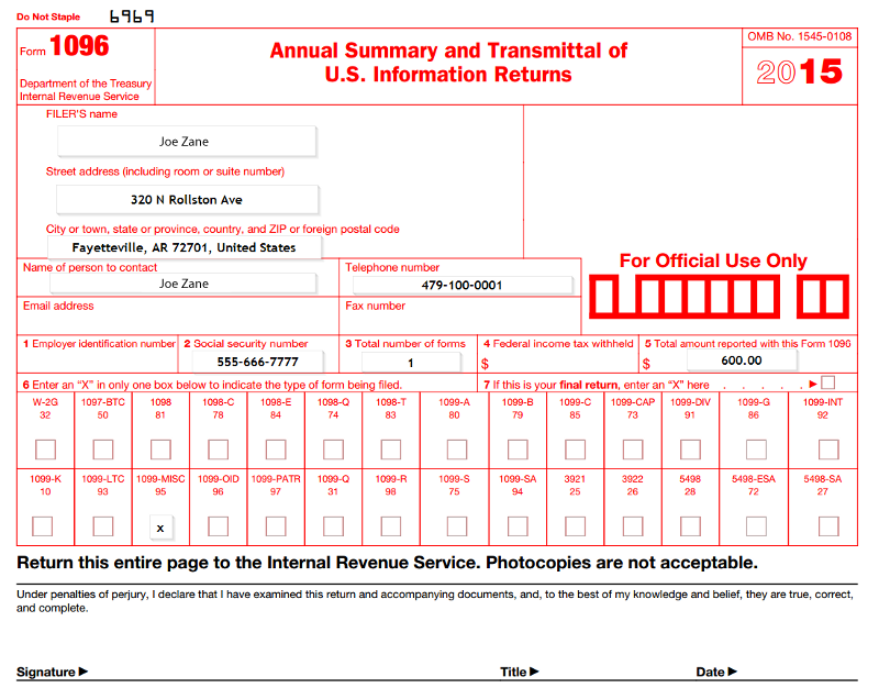How To File A Form 1099 Misc In 2016 Tom Zhang Medium