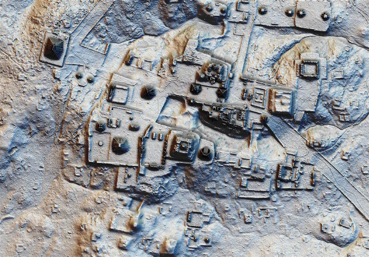 New Images of Ancient Maya Megopolis Reveal Thousands of Lost Pyramids And Monuments