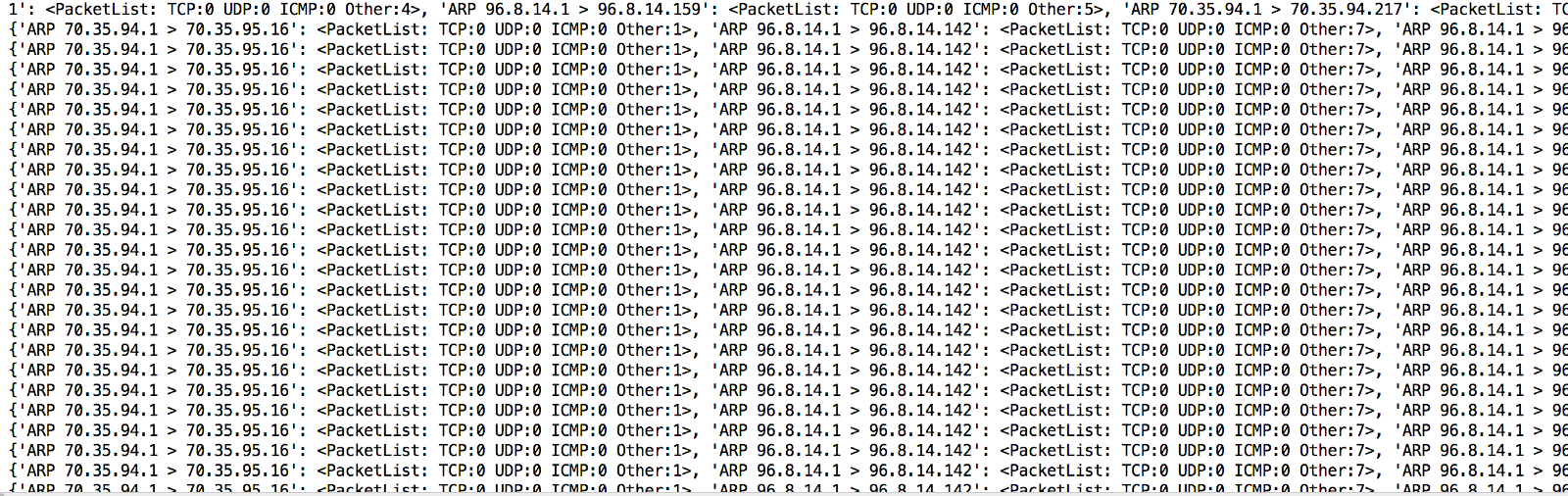 Extracting The Payload From A Pcap File Using Python