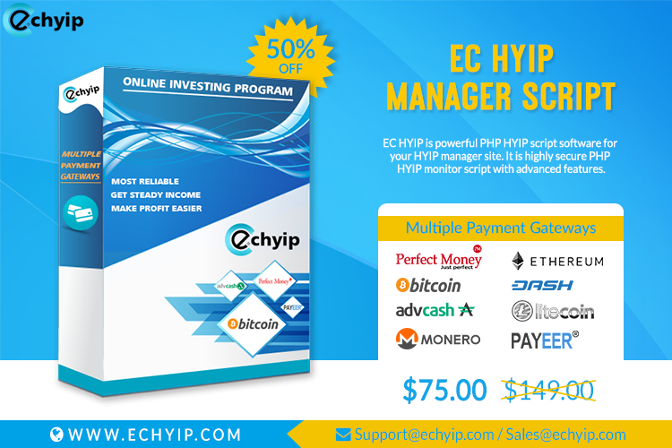 The best hyip investment online now free