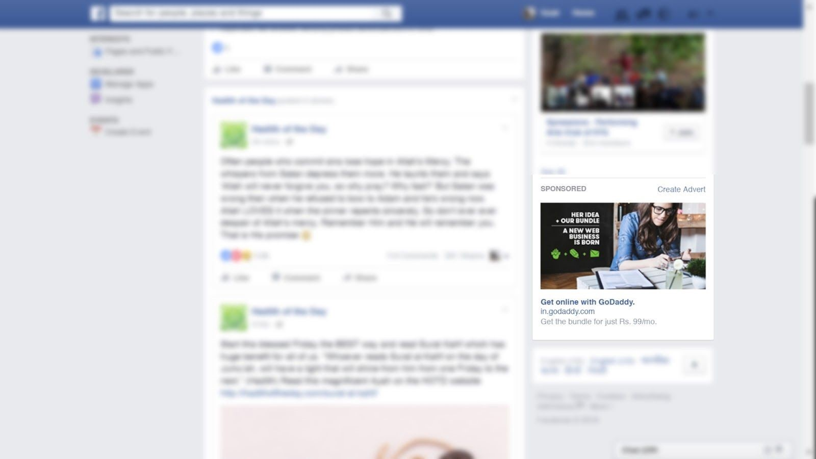 Ways Of Seeing Online An Analysis Of John Bergers Ideas In The  Targeted Facebook Ad Targeting Users Ambition Narrative Essay Example For High School also A Modest Proposal Ideas For Essays  Business Plan Writers Virginia