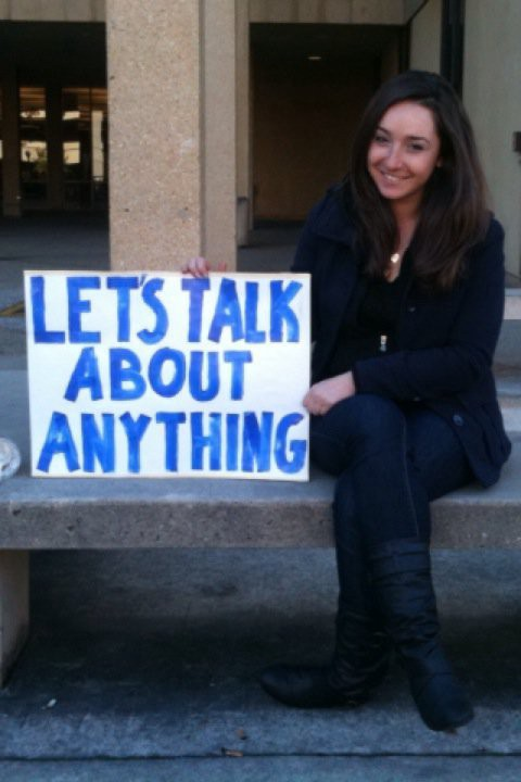 Lisa Abdilova's first mental health advocacy campaign at Stanford #FightTheStigma