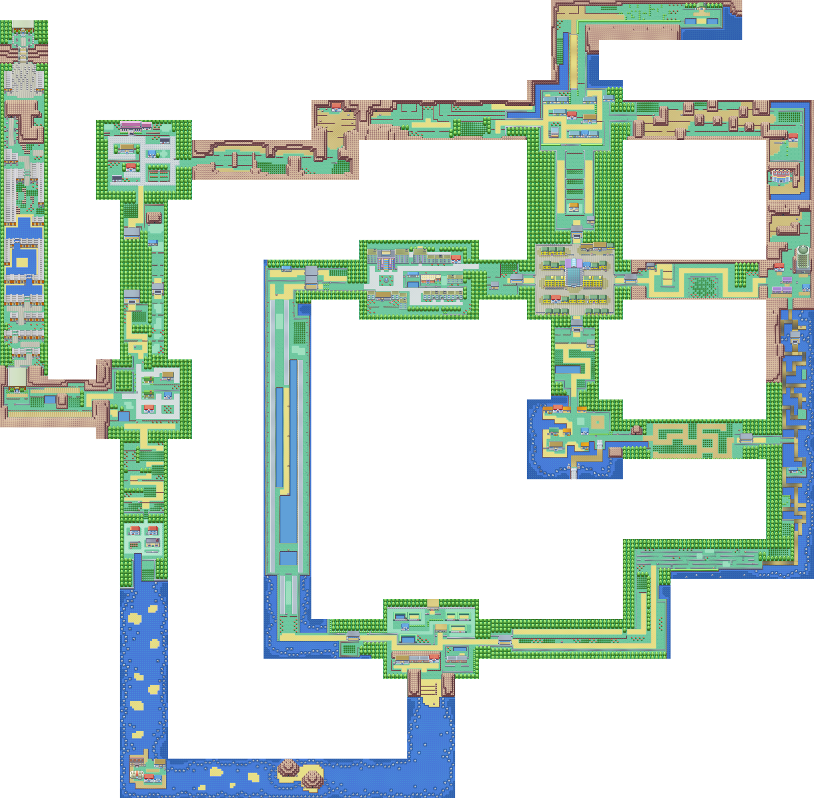 Creating a game size world map of Pokémon Fire Red – Mehdi Mulani