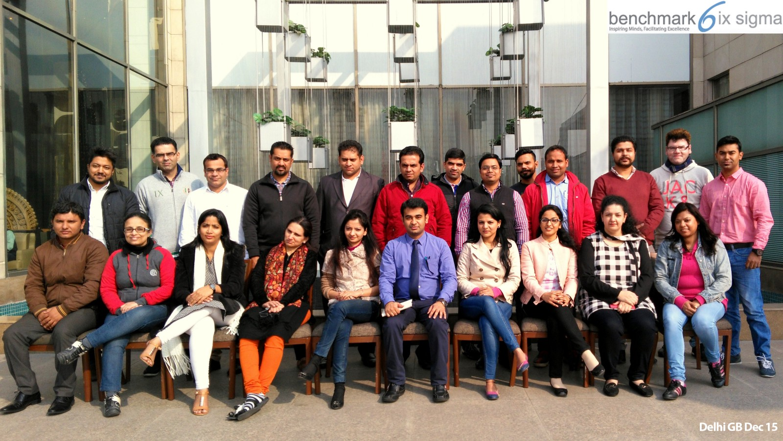 Benchmark six sigma green belt workshop at delhi benchmark six participants of benchmark six sigma green belt certification program december 2015 conducted at delhi httpgooy8fwyd xflitez Gallery