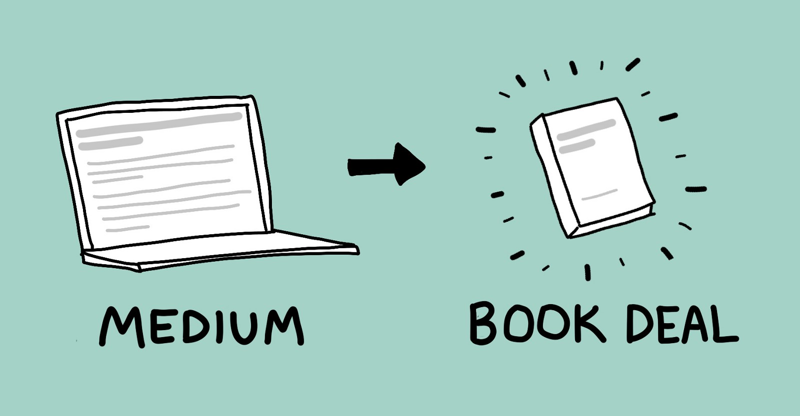 From Medium to Book Deal in 12 Months