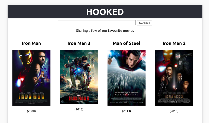 Build a movie search app using React Hooks