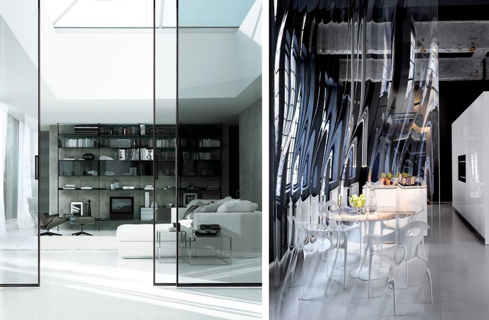 Glass Partition In The Interior Basics Of Interior