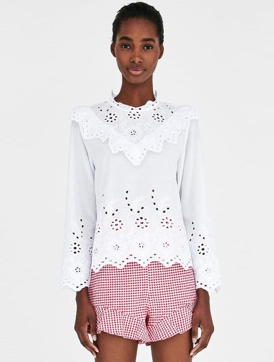 9f5896be Embroidered Top, $45.90: Adorable but sophisticated. Wear with jeans, black  (or bright colored pants), or whimsical Lilly Pulitzer shorts.