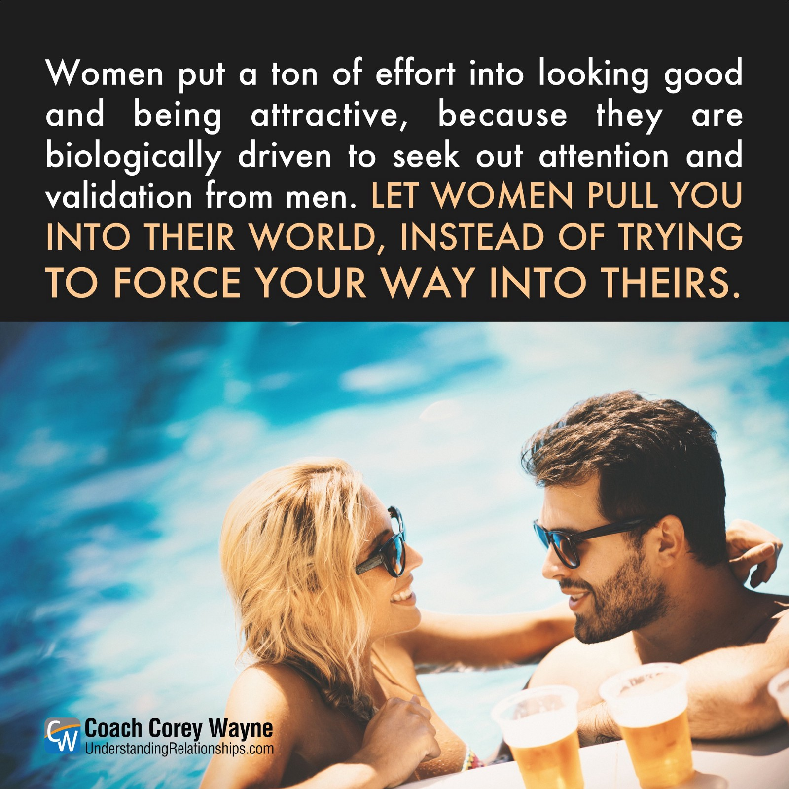 How to attract the attention of men and awaken his emotions