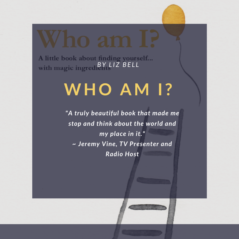 Who Am I? by Liz Bell, out now