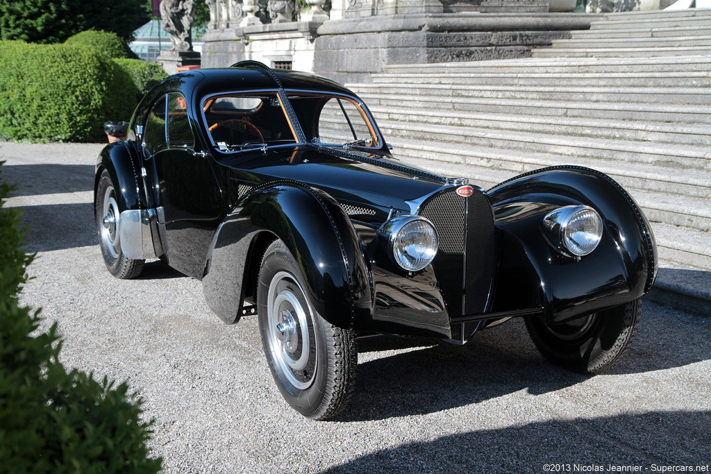 Exceptionally Rare Bugatti Type 57 Sc Atlantics Together For The