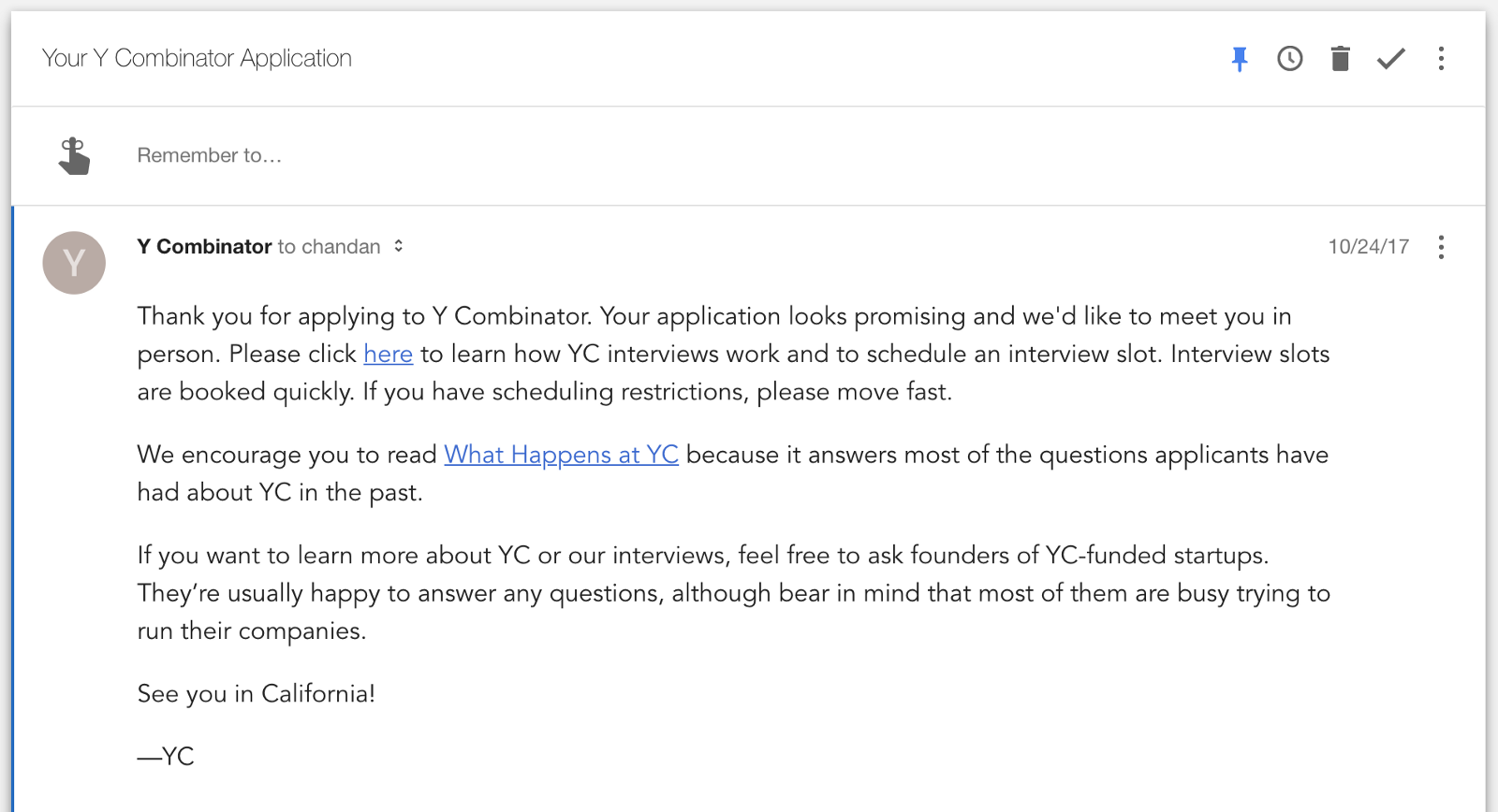 how to ace your y combinator interview chandan lodha medium