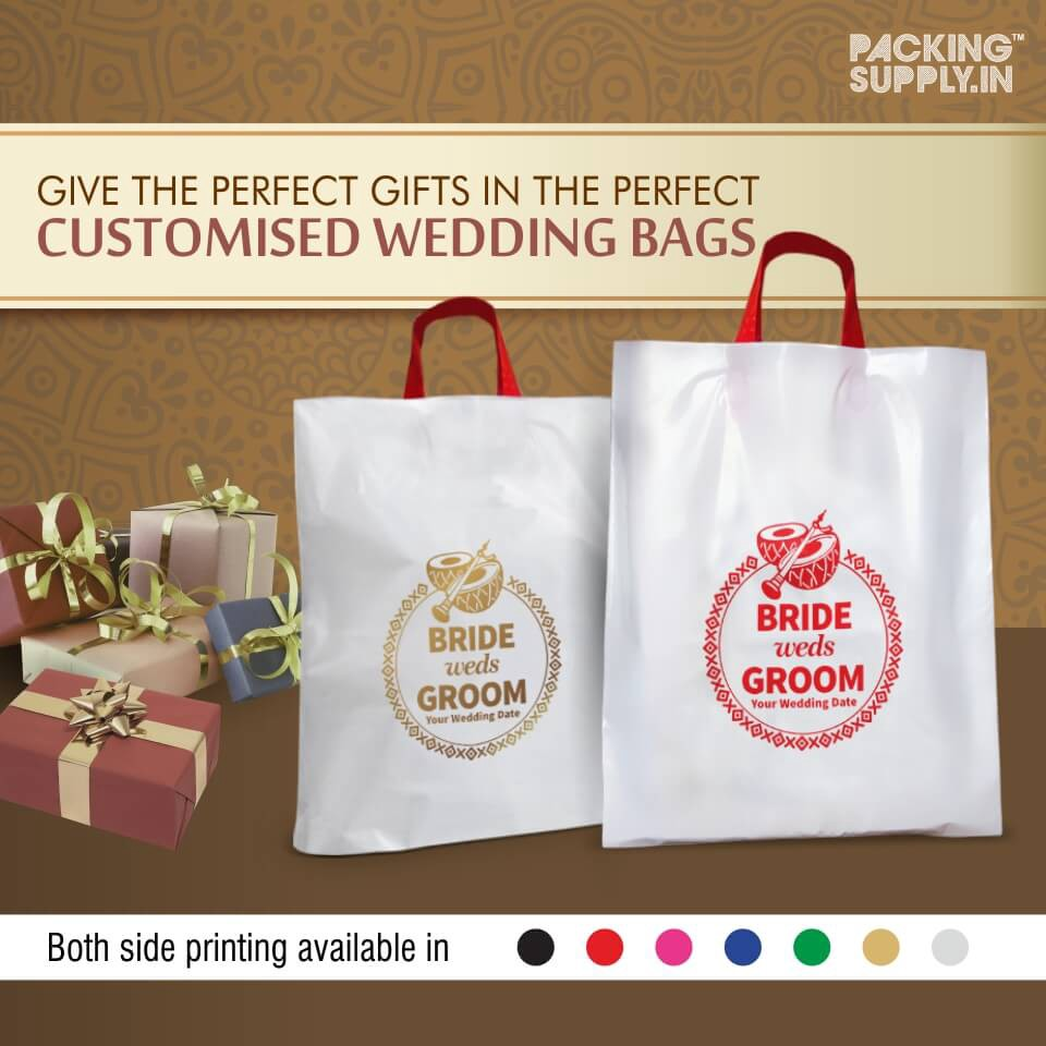 Packing Supply Introduces Customized Indian Wedding Gift Favor Bags
