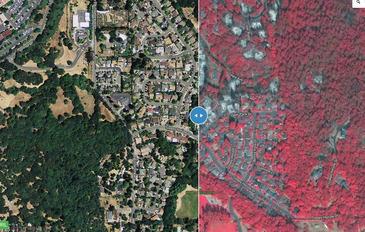 Updated Map Of Before After Imagery Of Norcal Fire Damage