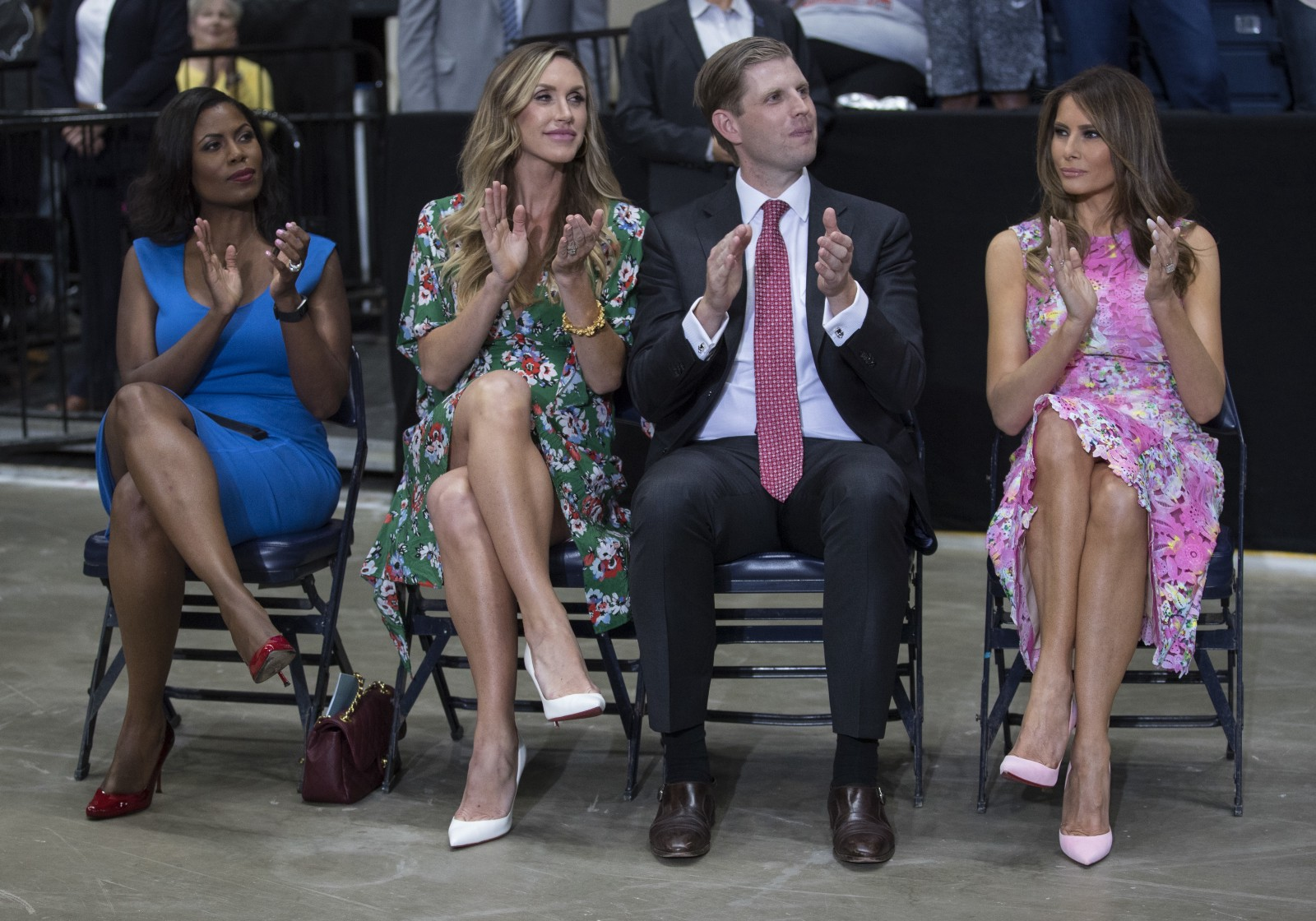 Trump's daughter-in-law hosts 'real news' program on his Facebook page