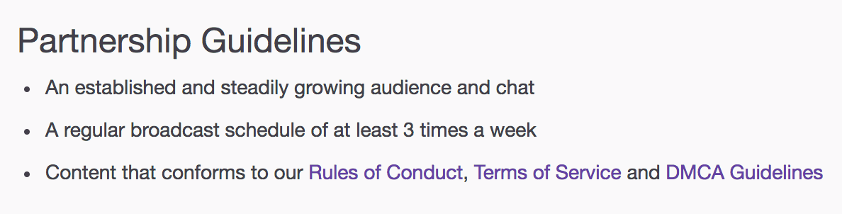 Twitch terms of service giveaways meaning