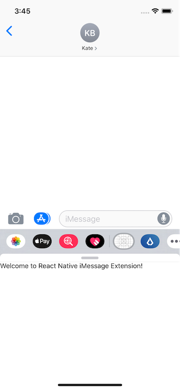 How to Build an iMessage Extension for a React Native App