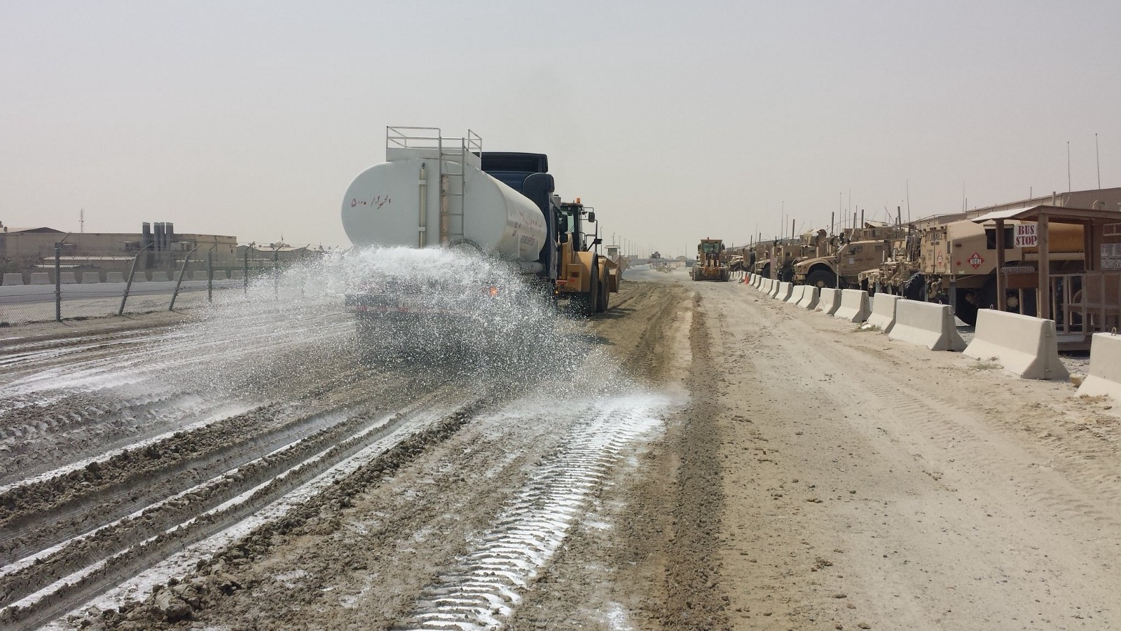 Sediment dust control on construction sites no longer a headache with ssi polymers for Construction interior dust control