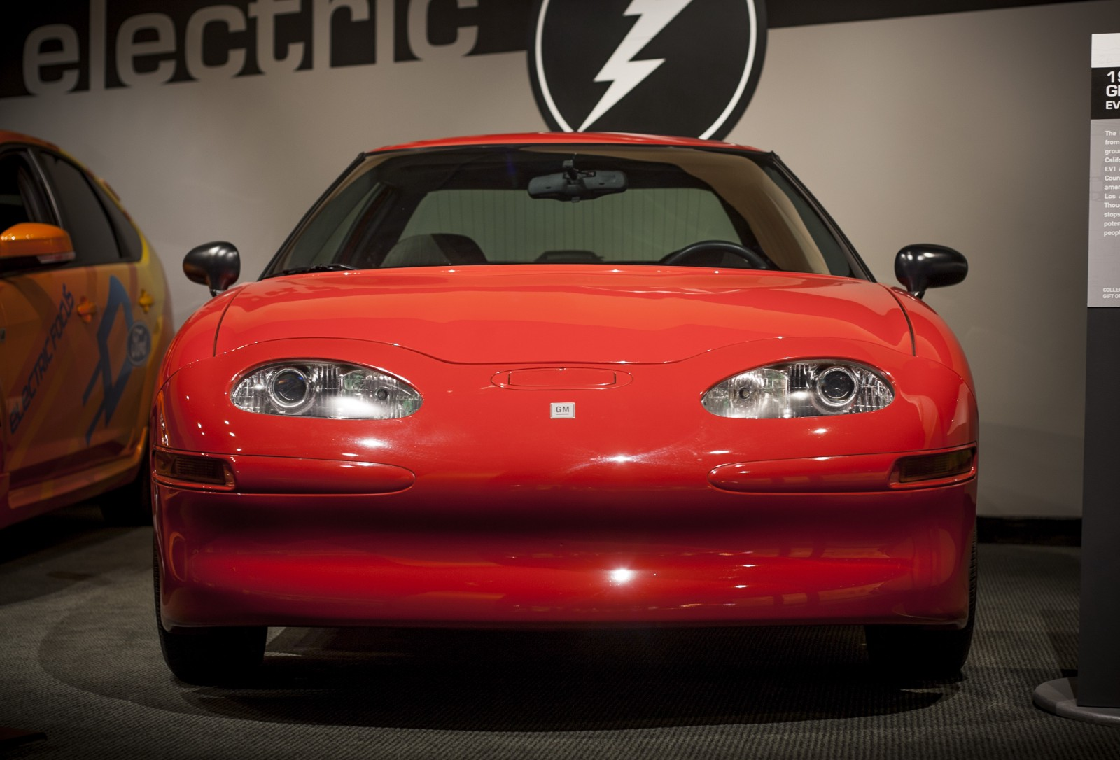 The 1996 Gm Ev 1 First All Electric Car Made By A Major Manufacturer