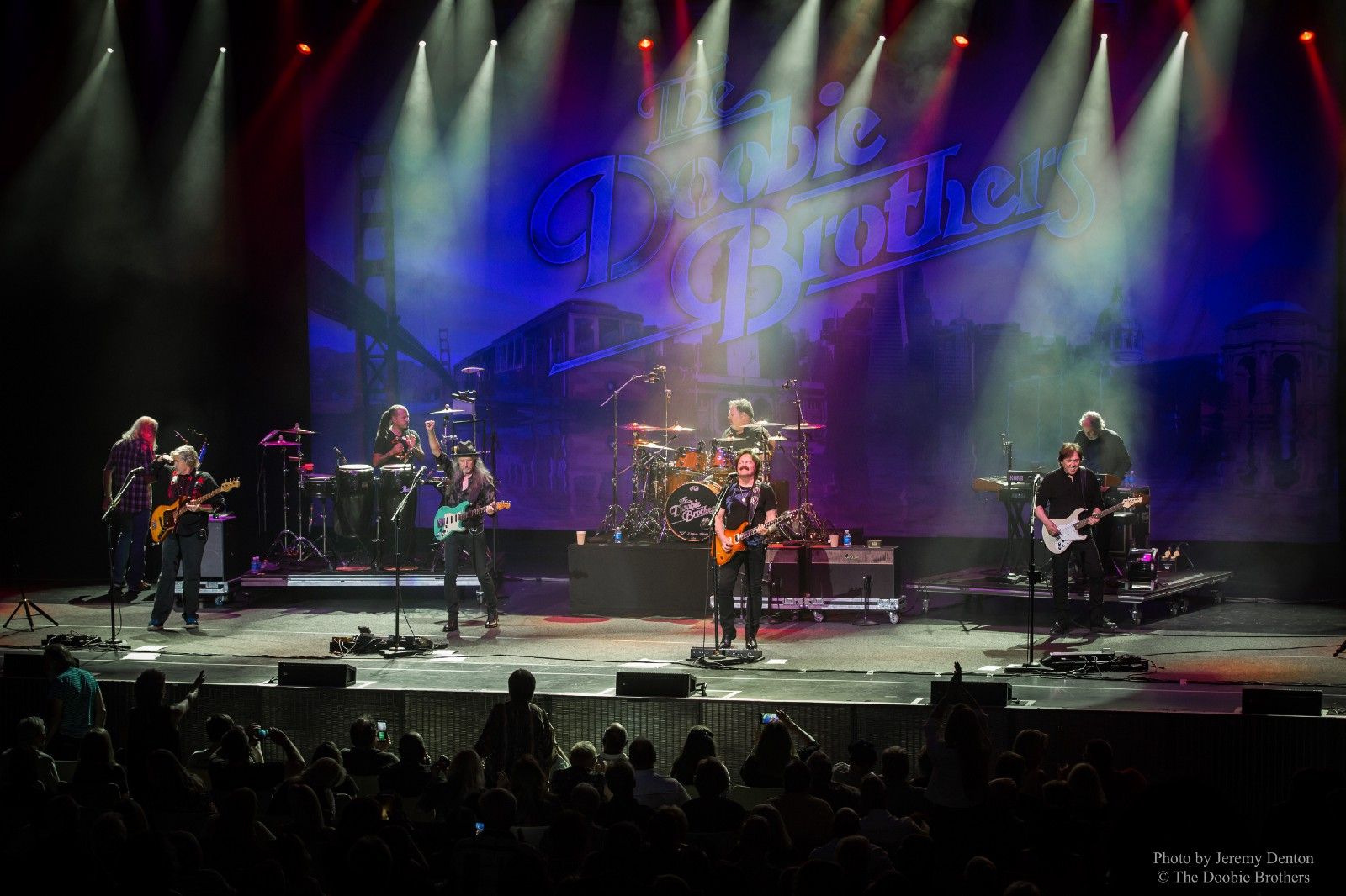 The Doobie Brothers Going Deep This Tour Wow Sold Out Opening Night