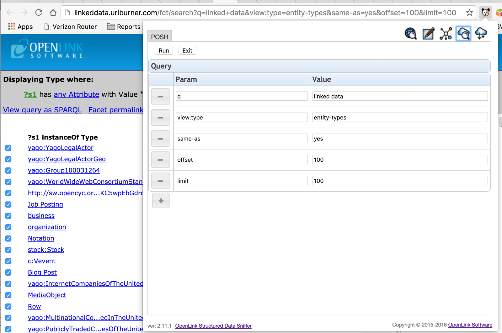 OpenLink Structured Data Sniffer — New Features Update