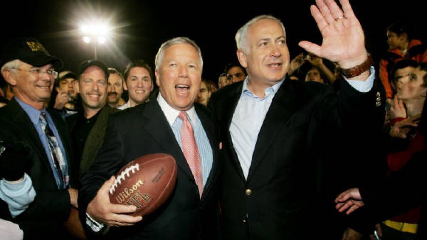 Image result for kraft and netanyahu