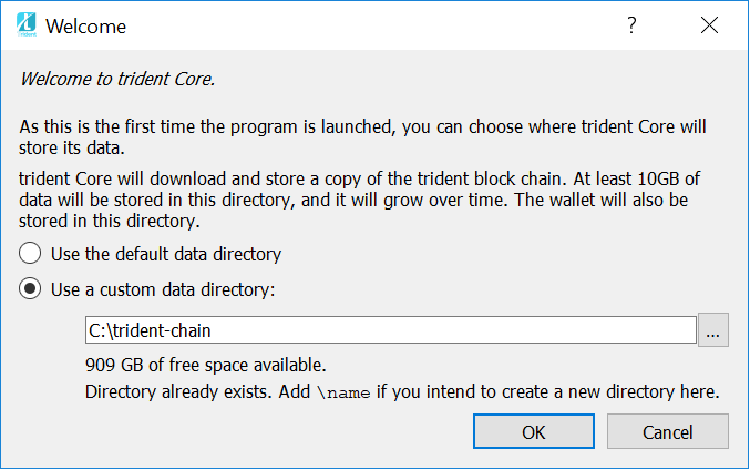 The Trident Core windows wallet 0.14 is live! \u2013 Trident Crypto Index