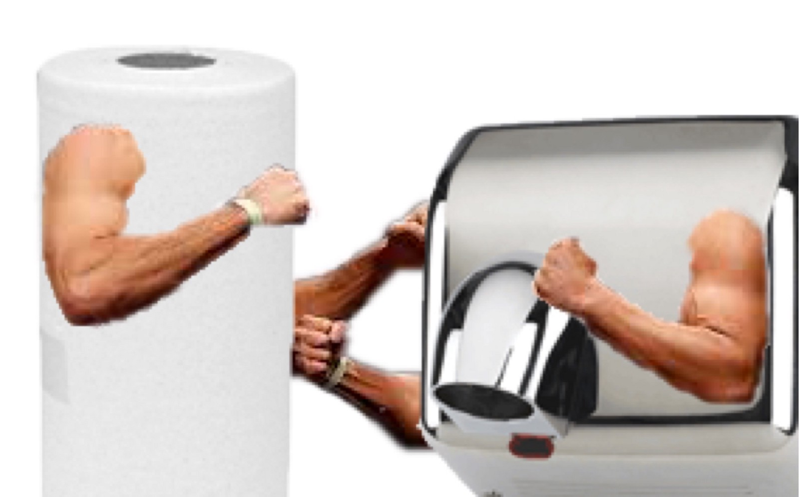 How to Dry Your Hands with One Paper Towel How to Dry Your Hands with One Paper Towel new images