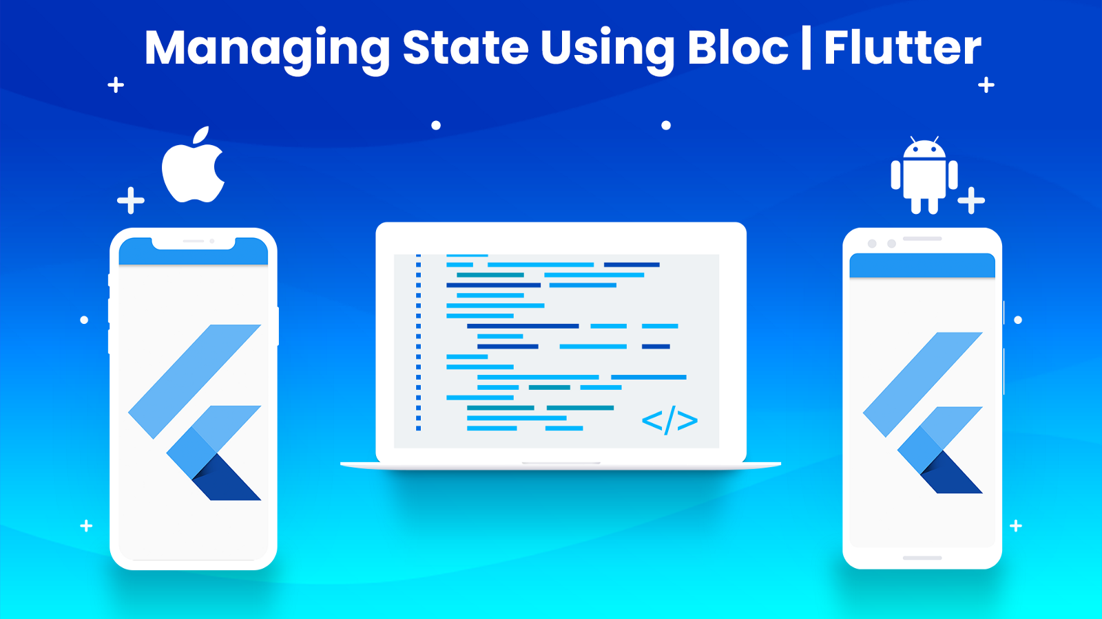 Managing the state of a Widget using bloc | Flutter