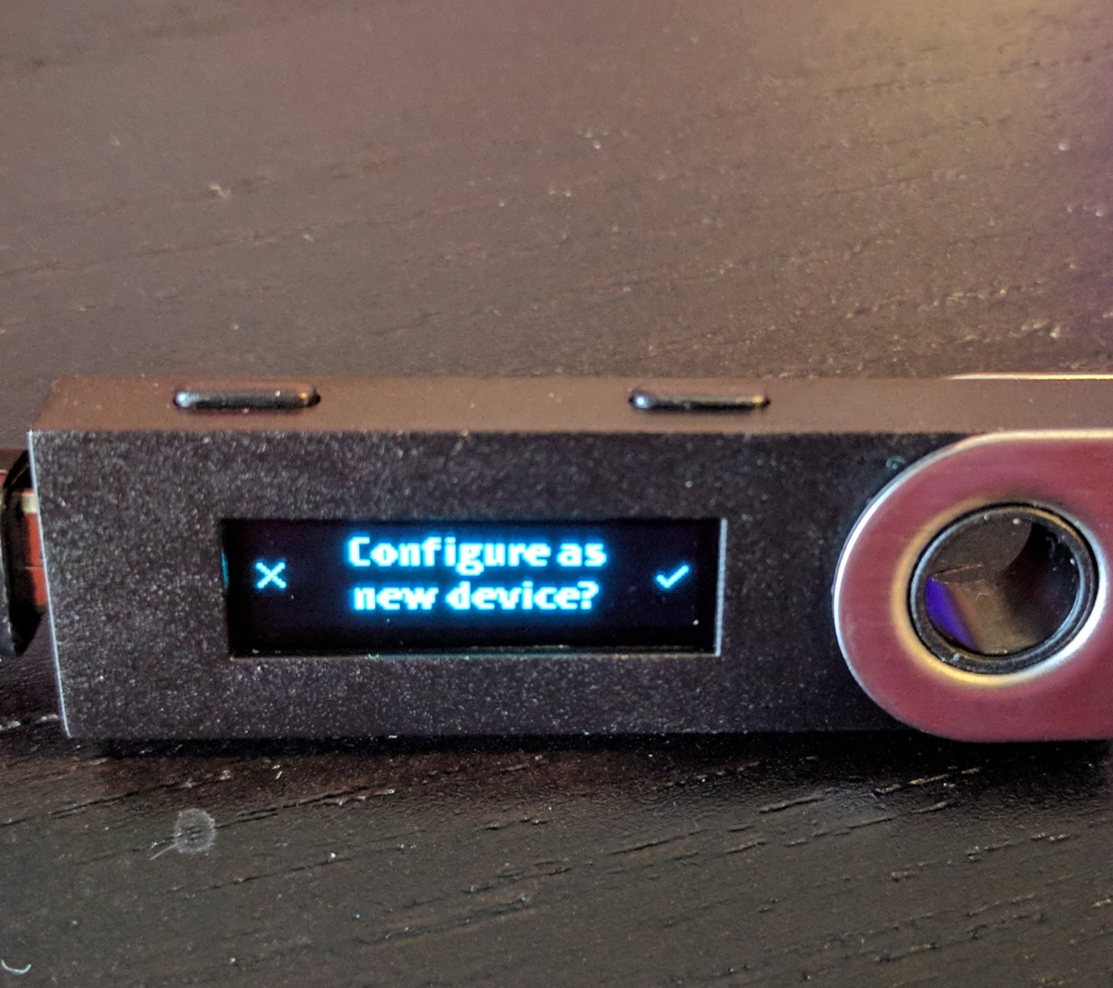 how to get private key from ledger nano s