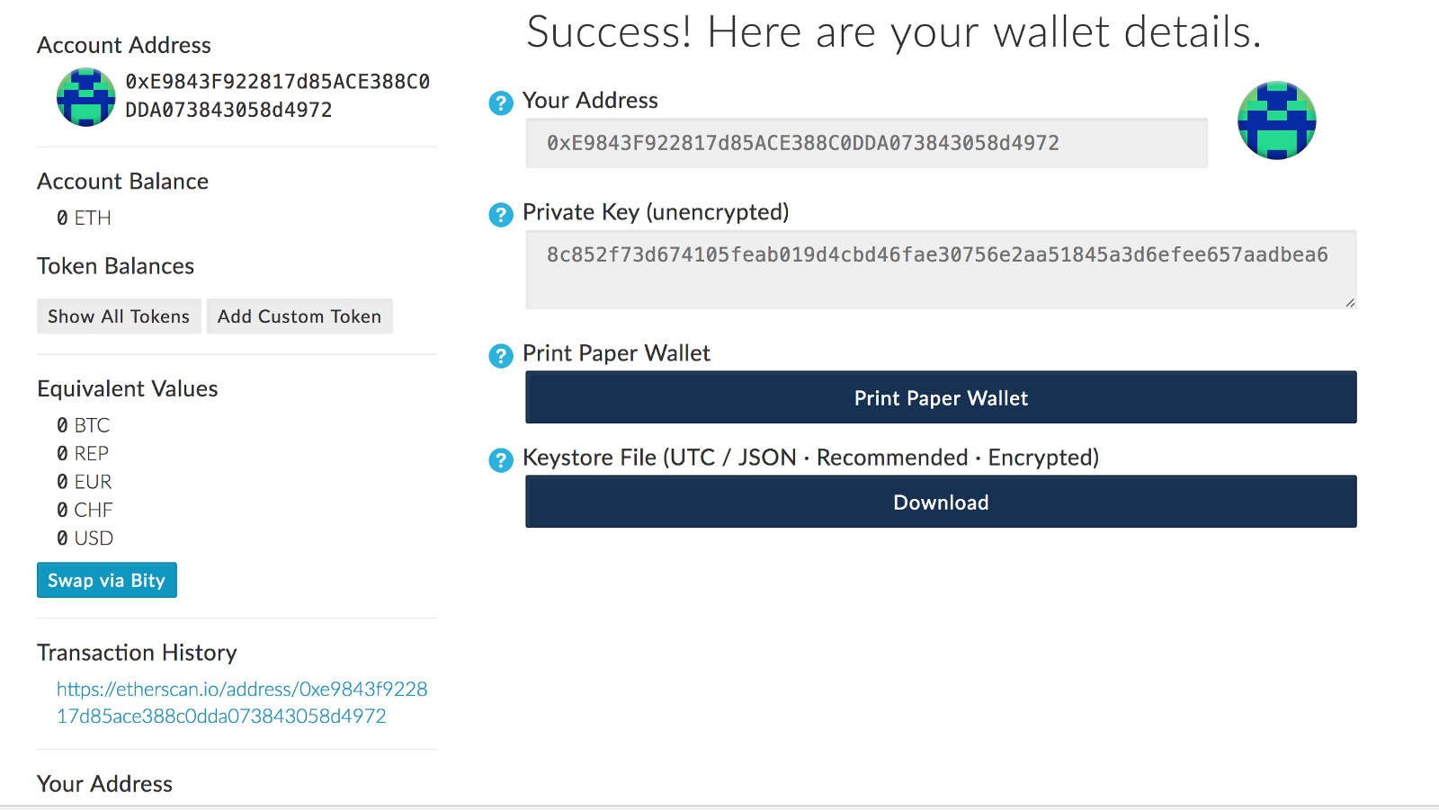 ardr cryptocurrency wallet