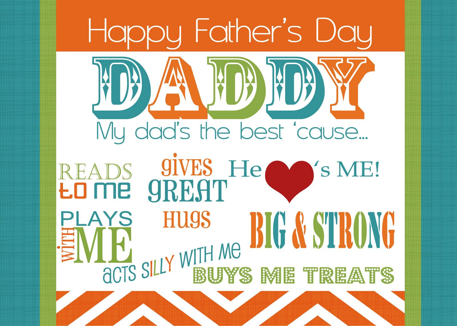 Fathers Day Greeting Cards Presents From The Heart