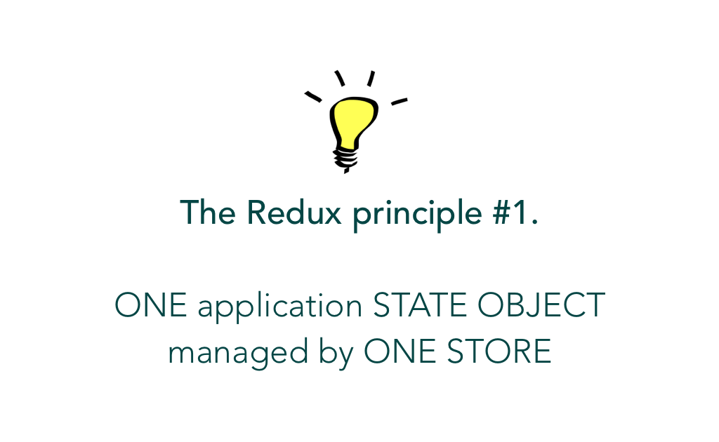 The first Redux Princple